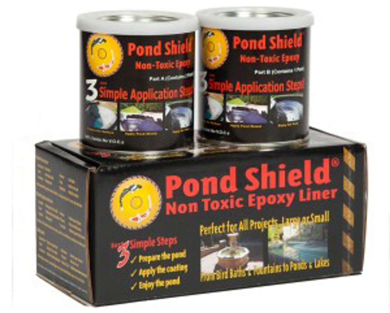Pond Shield Sealant for Concrete Ponds 1 5 qt