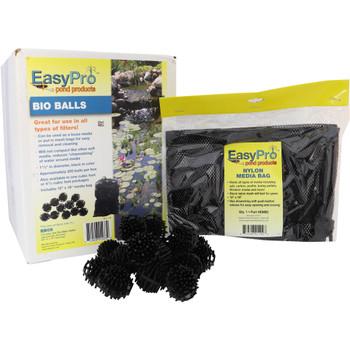 Bio balls biological filtration with media bag