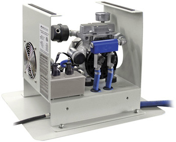 Pond Aerator - Compressor Cabinet Interior