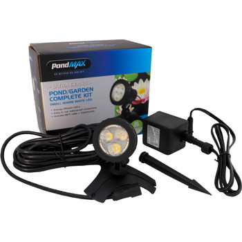 PONDMAX Small Warm White LED Pond Light Kit