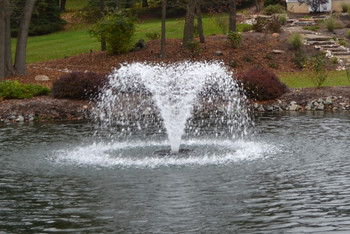 Otterbine Fountain Gemini Spray Pattern