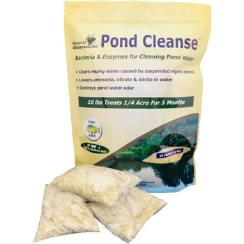 Pond bacteria packets