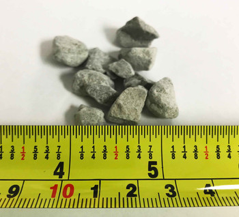 "Bentonite Chips Ranging in Size From 1/4""-3/8"""