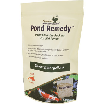 Pond Remedy Good Bacteria Packets for Koi Ponds