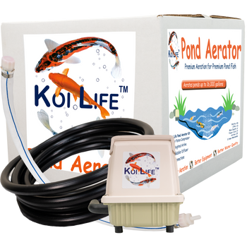 Koi Life Premium high-output fish pond aerator