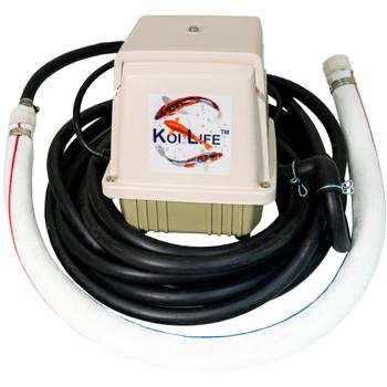 Koi Life Winter Prep Kit with Pond Aerator