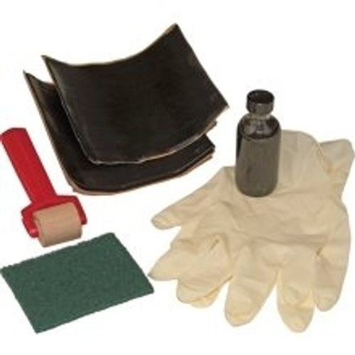 Repair supplies for EPDM rubber pond liner