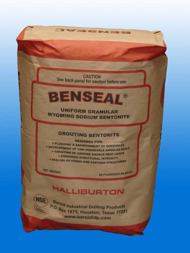 Benseal bentonite clay 50 lb bag