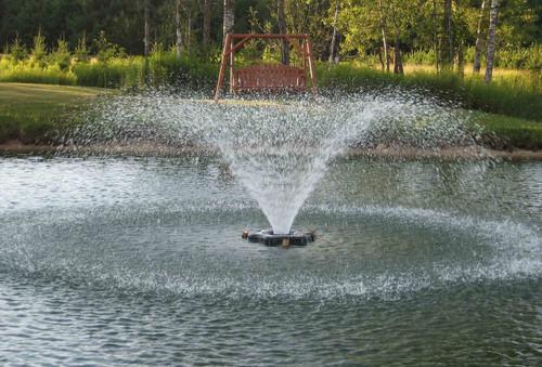 Floating Aeration by Kasco Marine