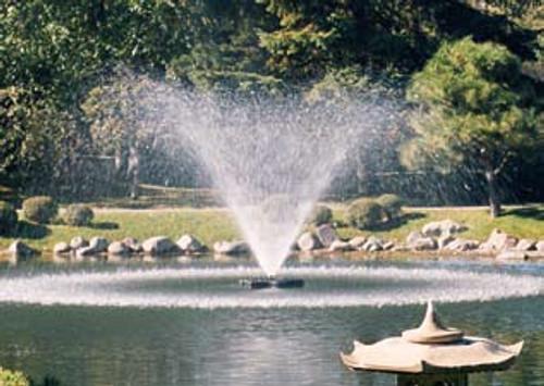 Willow fountain pattern - 4.5' high, 15' diameter