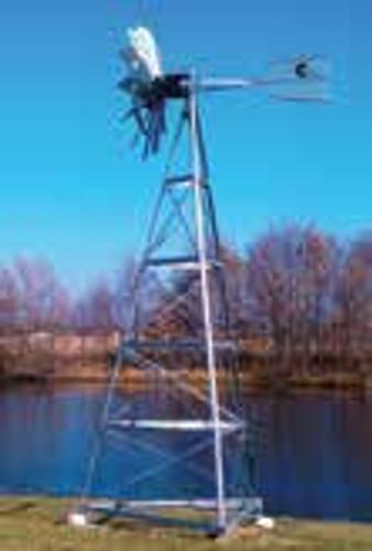 Windmill aerator