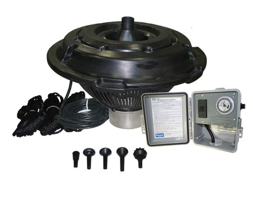 Kasco 1 HP J Series Fountain with interchangeable nozzles