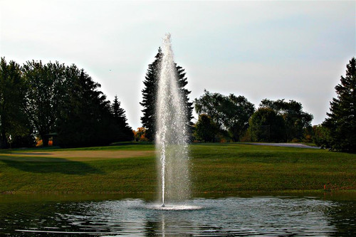 Aquamaster Fountain with Double Eagle Pattern