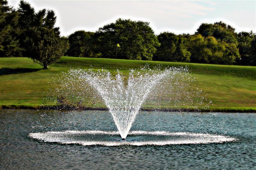 Aquamaster fountain with Turnberry Pattern