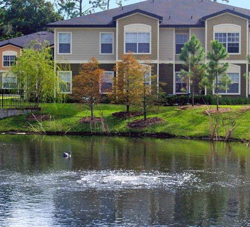 Pond Bottom Aeration provides vigorous circulation