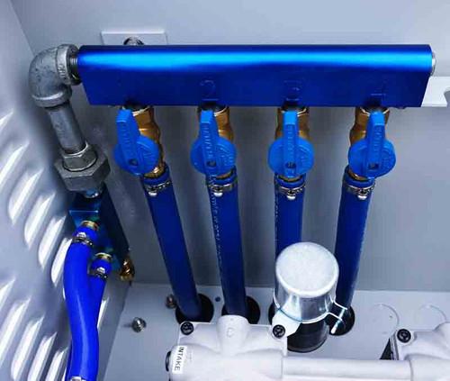 Aeration manifold for balancing air flow