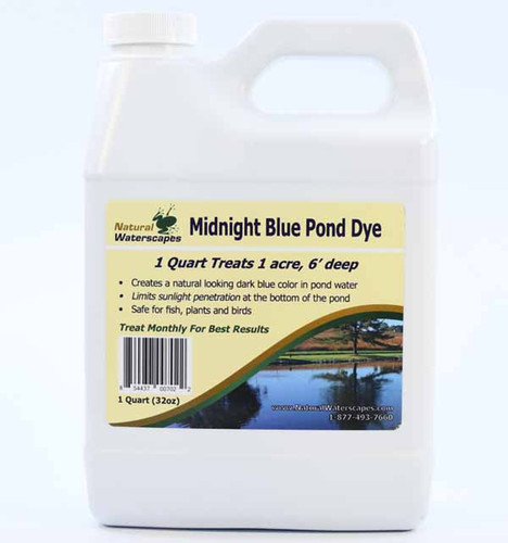 Deep Blue Pond Dye Liquid