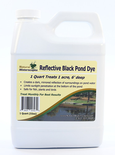 Reflective Black Pond Dye Concentrated Quart