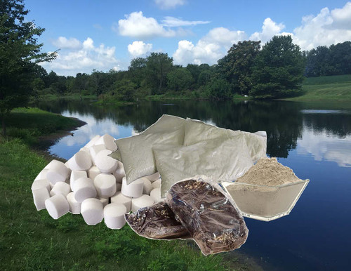Clean Pond Maintenance Kit for cleaner, clearer pond water