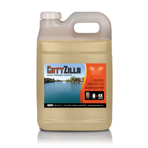 Cattzilla helps cattails fall within 1 to 2 weeks after application
