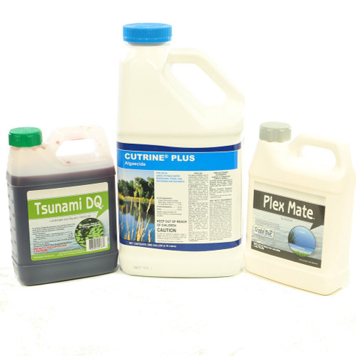 Duckweed Destroyer to get rid of duckweed fast