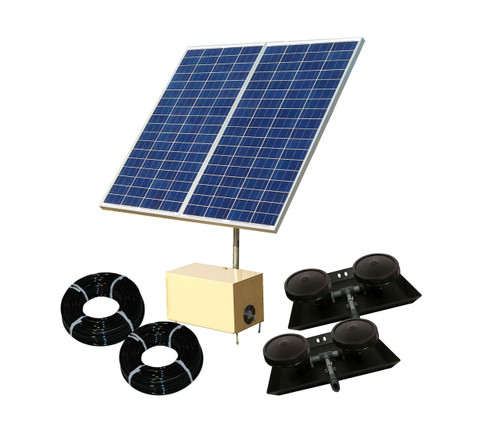 Complete Solar Aeration System