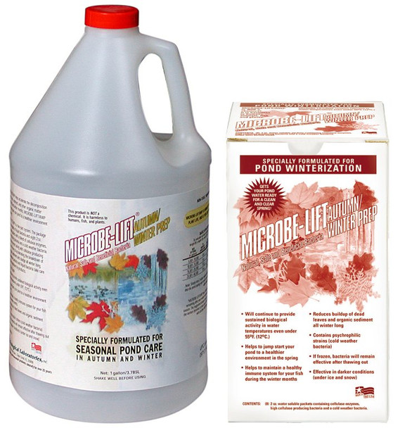 ECOLOGICAL LABORATORIES Microbe Lift Autumn/Winter Prep Gallon