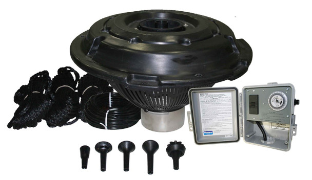 Kasco 3/4 HP Decorative Fountain with interchangeable nozzles