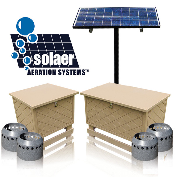 Solar Pond Aerator by Keeton