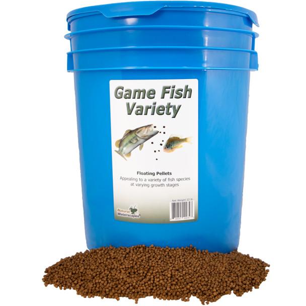 Game Fish Variety Food 22 lb