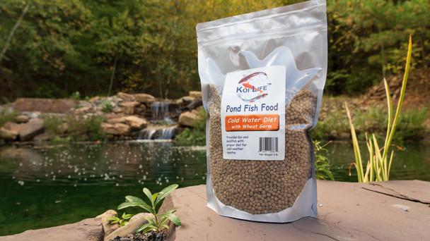 Fall fish food