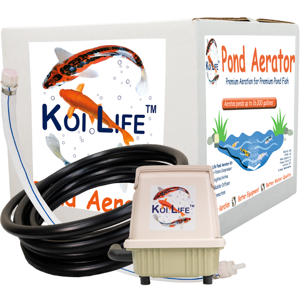Koi Life Premium high-output fish pond aerator