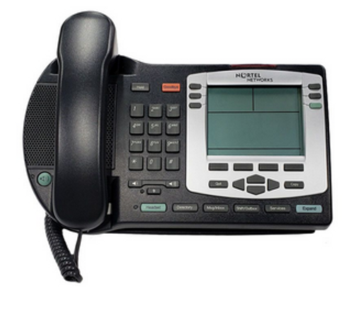 Nortel IP Phone 2004 w/Silver Bezel (Refurbished)