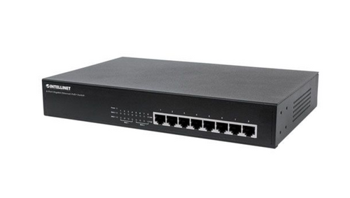 Intellinet 8-Port Gigabit Ethernet PoE+ Switch