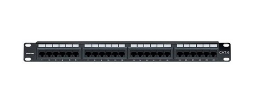 Intellinet 24-Port Cat6 Patch Panel