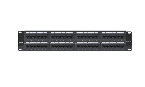 Intellinet 48-Port Cat6 Patch Panel