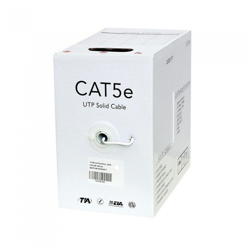 CAT5 Plenum 1,000ft Box