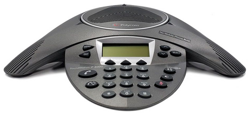 Polycom SoundStation IP 6000 w/AC Adapter