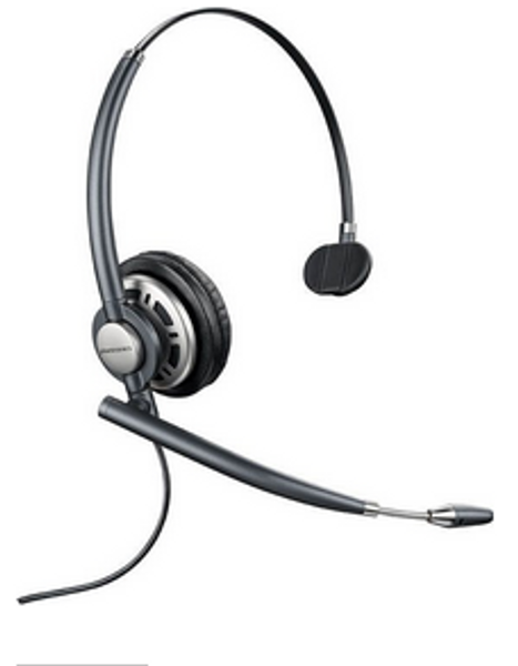 Plantronics HW710 Headset Bundle for Yealink IP Phones