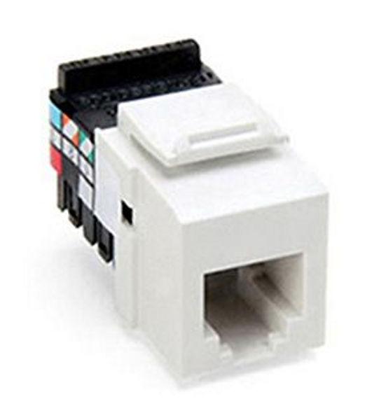 Leviton QuickPort® Cat 3 Voice Grade Jack Module, White
