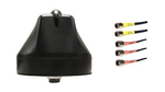 AG65 Enterprise Series Mobility 5-Lead MIMO 2 x Cellular 4G 5G CBRS / MIMO 3 x Dual Band WiFi Antenna w/Bolt Mount - Black (Sierra Wireless)