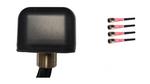 AG44 Low Profile 4-Lead Multi MIMO 4 x Dual Band WiFi Antenna w/Bolt Mount