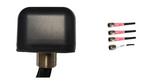 AG44 Low Profile 4-Lead MIMO 3 x Dual Band WiFi / GPS GNSS Antenna w/Bolt Mount (Sierra Wireless)