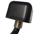 AG43 Low Profile 3-Lead MIMO Cellular 4G 5G / GPS GNSS / Dual Band WiFi Antenna w/Bolt Mount - Band 14 n71 Compliant