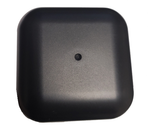 AG43 Low Profile 3-Lead MIMO Cellular 4G 5G / GPS GNSS / Dual Band WiFi Antenna w/Bolt Mount - Top View