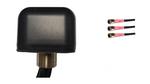 AG43 Low Profile 3-Lead MIMO 3 x Dual Band WiFi / GPS GNSS Antenna w/Bolt Mount (Sierra Wireless)