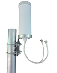 AG29 MIMO 2 x CBRS LTE Antenna w/L-Bracket Mount - Includes 2 x 1ft Coax Cable - N Male