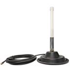 AG10 Omni Directional Wide Band Cellular 3G 4G LTE CBRS 5G NR M2M IoT Failover External Antenna w/Magnetic Mount Option