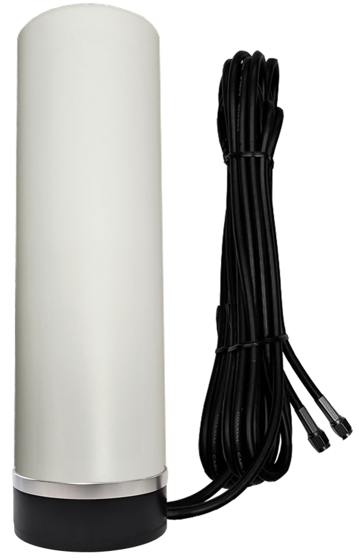 AG29M MIMO 2 x Cellular 3G 4G 5G LTE WiFi Omni-Directional / Directional Magnetic Mount Antenna w/2 x 16ft Coax Cables