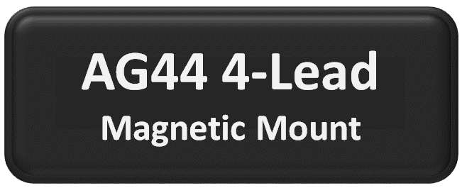 AG44 MIMO 4-Lead Magnetic Mount Antenna